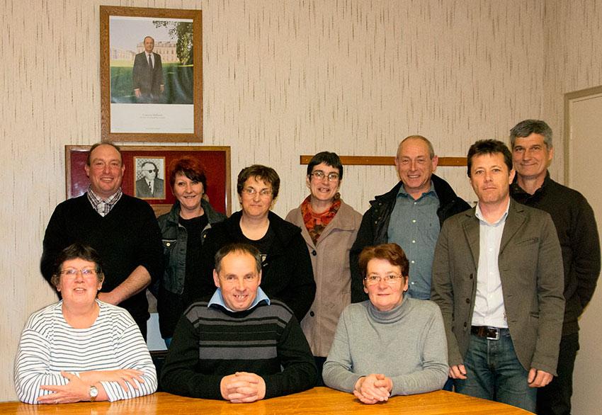 Le Vilhain, l'équipe du conseil municipale