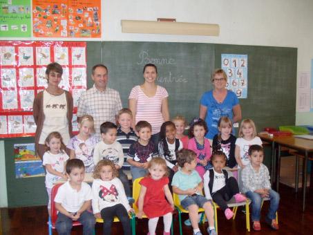 La rentrée des classes 2014 au Vilhain