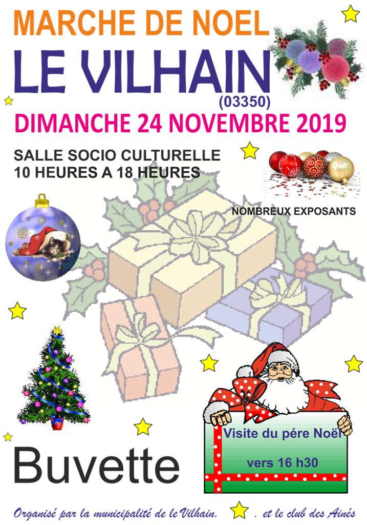 Le Vilahin, Marché de Noël 2019